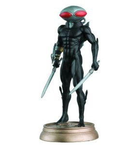 DC Chess Fig Coll Mag #49 Black Manta Black Pawn