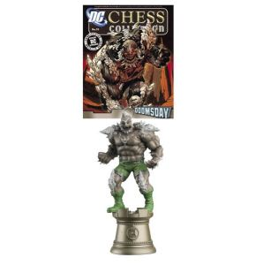DC Chess Fig Coll Mag #55 Doomsday Black Rook