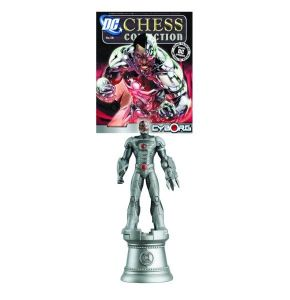 DC Chess Figure Coll Mag #58 Cyborg White Rook