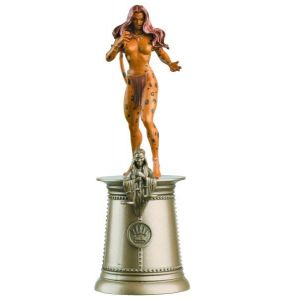 DC Chess Figure Coll Mag #52 Cheetah Black Queen