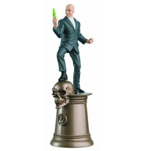DC Chess Figure Lex Luthor Black King #38 Collector Magazine
