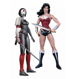 New 52 Wonder Woman vs Katana Action Figure 2-Pack
