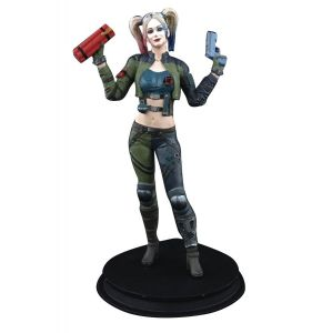 DC Injustice Harley Quinn Green Costume PX Statue Exclusive