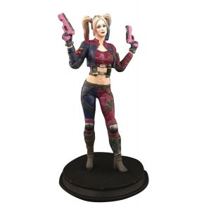 DC Injustice Harley Quinn Pink Costume PX Statue Exclusive