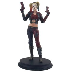 DC Injustice Harley Quinn Red Costume PX Statue Exclusive
