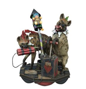 DC Super Powers Collection Hyenas Bud & Lou Maquette