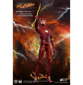 The Flash Real Master Series Barry Allen 1/8 Scale Action Figure