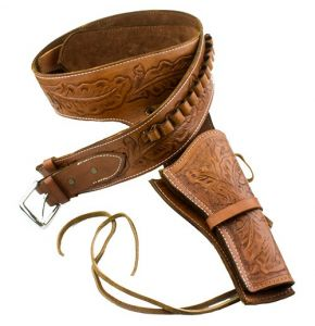 Deluxe Tooled Fast Draw Western Holster
