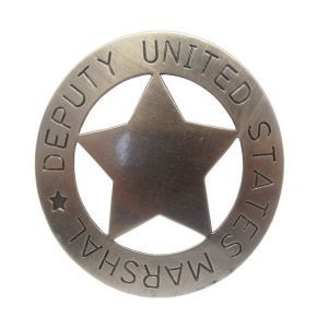 Deputy United States Marshal's Badge