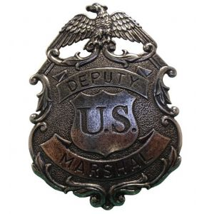 US Deputy Nickel Marshal Eagle Badge