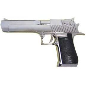 Desert Eagle Semi-Auto Non-Firing Replica Chrome