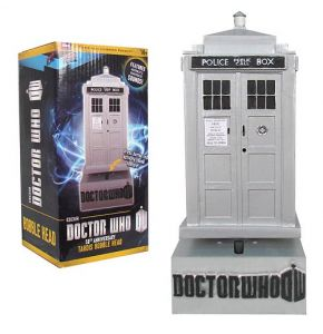 Doctor Who 50th Ann TARDIS Bobble Head w/ Sound