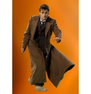 Abbyshot Doctor Who Licensed 10th Doctor's Long Coat