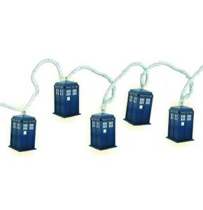 Doctor Who Tardis String of Lights