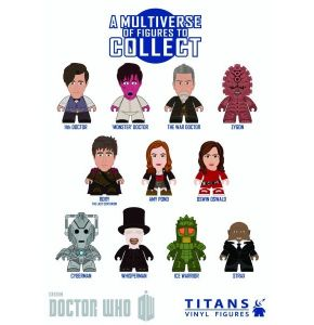 Doctor Who Titans Mini Figures 20Pc BMB Series 4