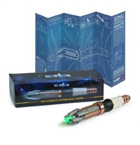 Doctor Who 11th Doctor Sonic Screwdriver Universal Remote