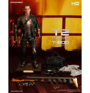 Enterbay Terminator 2 T-800 Battle Damaged HD Maserpiece Figure