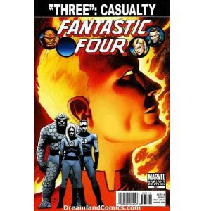 Fantastic Four #587 Spoiler Variant Three Casualty