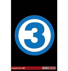 Fantastic 4 #587 Three Casualty Comic
