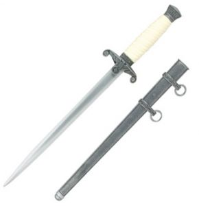 Wehrmacht Officer's Dagger Antiqued Replica