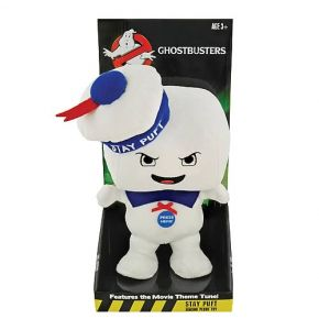 Stay Puft Marshmallow Man Angry Singing Plush