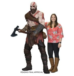 God of War Kratos Life Size Foam Replica From The 2018 Game