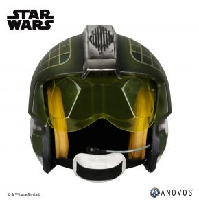 Star Wars Gold Leader Rebel Pilot Helmet