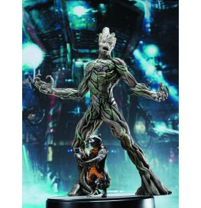 GOTG Groot & Rocket Raccoon Action Hero Vignette AHV