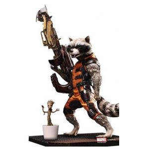Guardians of the Galaxy Rocket Raccoon Action Hero Vignette AHV