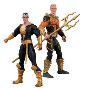 Injustice Aquaman vs Black Adam Action Figure 2-Pack