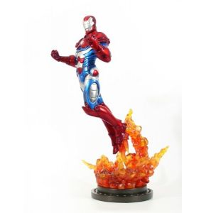 Avengers Iron Man Iron Patriot Statue