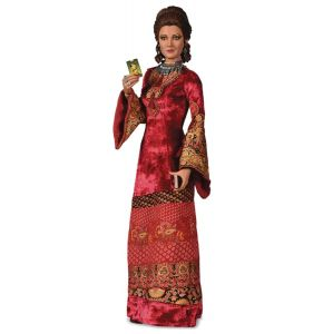 James Bond Live & Let Die Solitaire Red Maxi Dress 1/6 Scale Figure