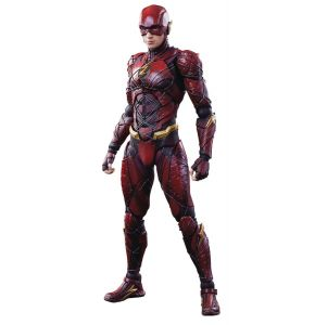 Justice League The Flash Play Arts Kai Variant Action Figure