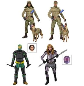 Kick Ass 2 Series 2 Figure Set of 4