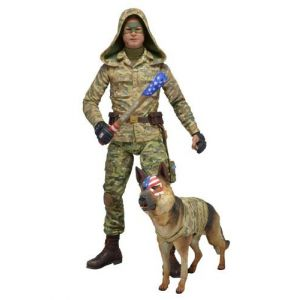 "Kick Ass 2 Series 2 Colonel Stars & Stripes with hood 7"" Figure"