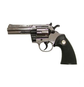 Kimar Python Nickel Blank Top Firing Revolver