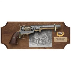 Lee & Jackson Non-Firing Pistol Set Dark Wood