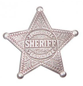 Western Lincoln County Sheriffs Badge Replica