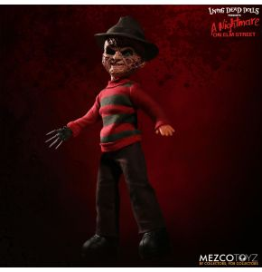 Living Dead Dolls A Nightmare on Elm Street Talking Freddy Krueger