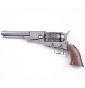 M1849 Dragoon Pistol Antiqued Gray Replica