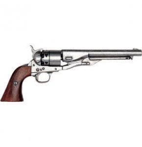 M1860 Antiqued Cavalry Non-Firing Revolver