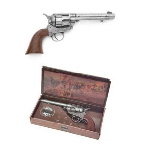 M1873 Antiqued West Army Pistol Non-Firing