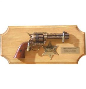 Engraved Sheriffs Collection Non-Firing Pistol Set