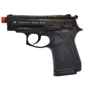 Zoraki 914 9mm Black Front Firing Machine Pistol