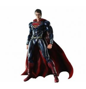 Superman Man of Steel Play Arts Kai Superman Figure