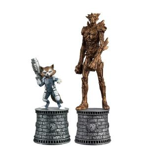 Marvel Chess Fig Coll Mag Special 2 Rocket Raccoon & Groot