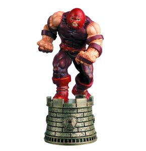 Marvel Chess Fig Goll Mag #23 Juggernaut Black Rook