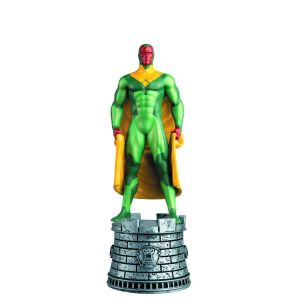 Marvel Chess Fig Goll Mag #23 Vision White Rook