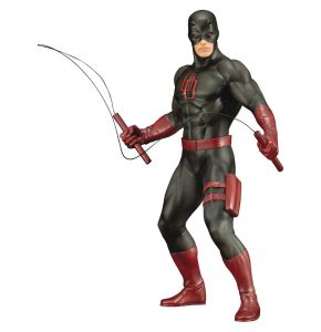 Marvel Defenders Series ArtFX+ Daredevil Black Suit Ver Statue