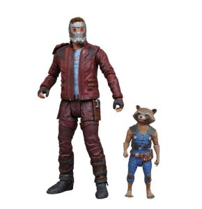 Guardians of the Galaxy 2 Star Lord & Rocket Action Figures